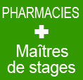 Pharmacies avec Maitres de stages